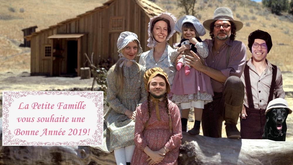 La Petite Famille vous souhaite une bonne année 2019 !
