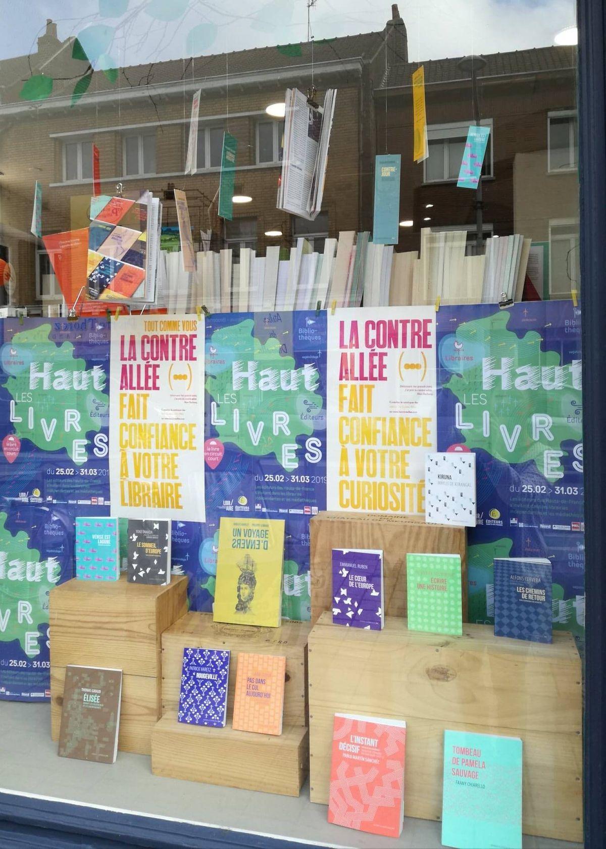 La Contre Allée à la librairie !